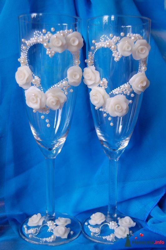 Фото 108734 в коллекции свадебные бокалы!!!!! - Невеста01