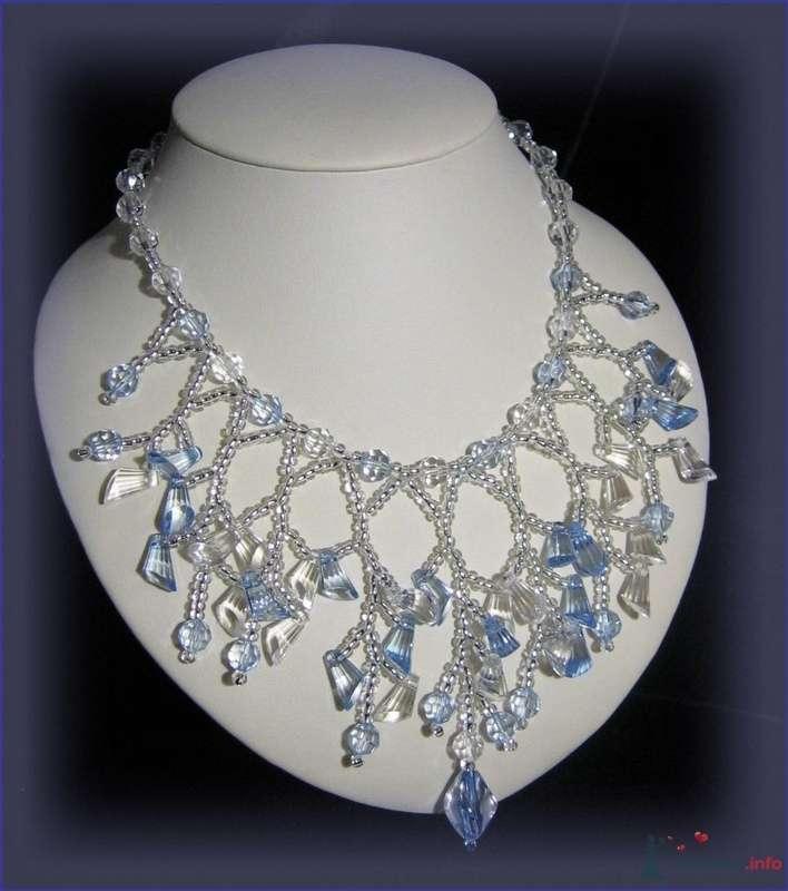 Ожерелье из бисера и бусин Чехия - фото 79322 Невеста01