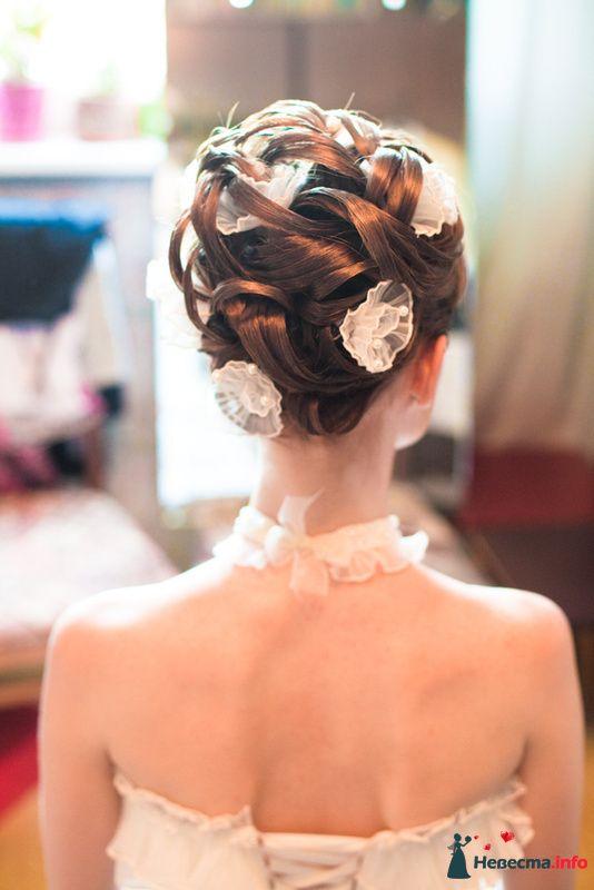 Фото невесты прически сзади