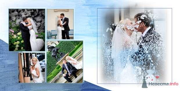 Фото 76904 в коллекции Свадебная фотография в свадебной книге - Василий Саньков. Свадебный и семейный фотограф