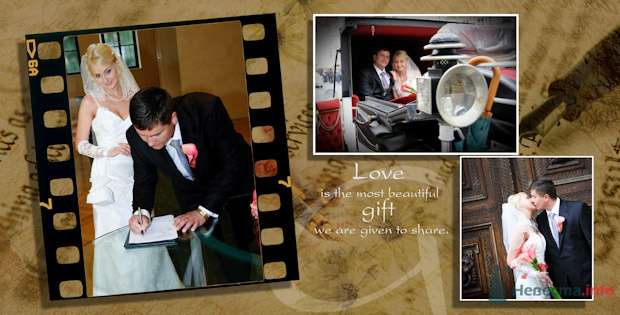 Фото 76906 в коллекции Свадебная фотография в свадебной книге - Василий Саньков. Свадебный и семейный фотограф