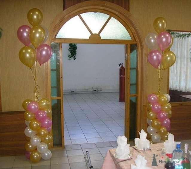 Фото 38708 в коллекции Украшение банкетного зала воздушными шарами - Дизайн-студия «Art-Infinity»