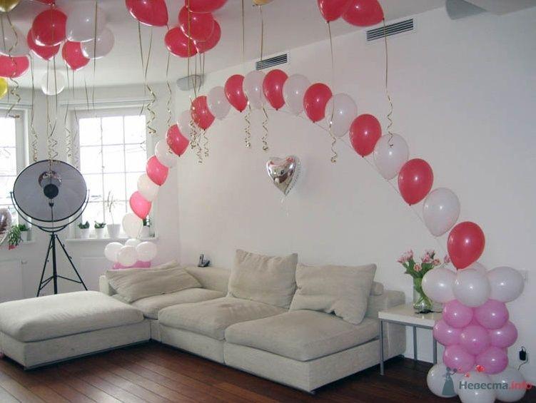 Фото 38710 в коллекции Украшение банкетного зала воздушными шарами - Дизайн-студия «Art-Infinity»