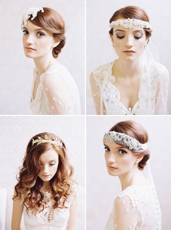 Образ невесты. Украшения и альтернатива фате.