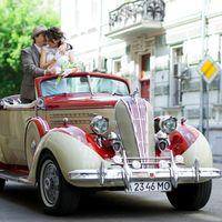 Мы и ретро кабриолет Hudson 1937г.