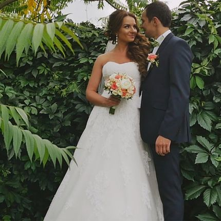 Съёмка свадебного фильма