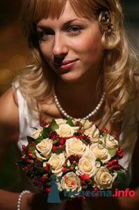 Фото 80748 в коллекции Образцы свадебных букетов - Цветочный Рай - флористы