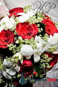 Фото 80752 в коллекции Образцы свадебных букетов - Цветочный Рай - флористы