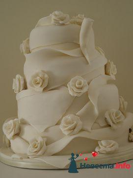 Фото 84807 в коллекции Торты - Свадебный распорядитель. Яна