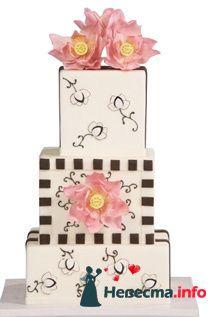 Фото 96853 в коллекции Торты - Свадебный распорядитель. Яна