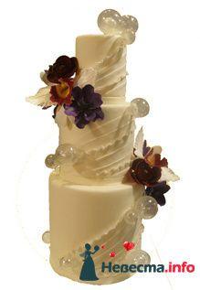 Фото 96854 в коллекции Торты - Свадебный распорядитель. Яна