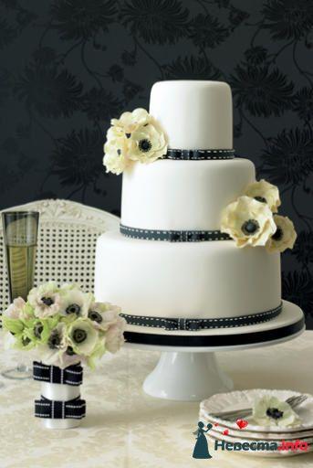 Фото 99500 в коллекции Торты - Свадебный распорядитель. Яна