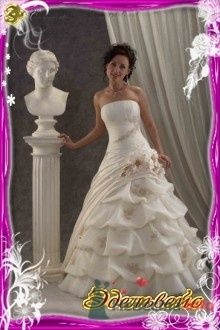 """Фото 15314 в коллекции Коллекция Gabbiano - Свадебный салон """"Эдельвейс"""""""