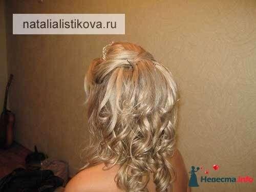 Фото 233788 в коллекции Свадебные прически - Свадебный стилист Листикова Наталия