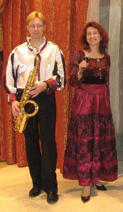 """Фото 1392225 в коллекции Фотографии со свадеб - """"Шаги"""" - ведущая, саксофонист и кавер-группа"""
