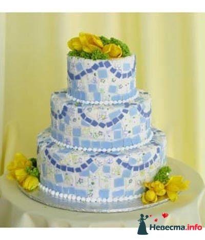 Фото 83093 в коллекции свадебные торты - Ленусечка