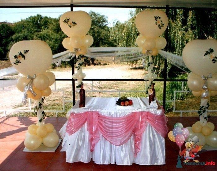 Фото 83739 в коллекции Оформление свадьбы - Студия Наталии Шелухиной - свадебное оформление