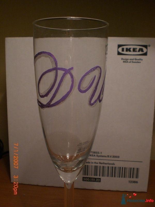 бокалы с инициалами - фото 97972 IrishkaDzo