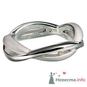 """Кольцо из серебра 925, вставка-бриллиант - фото 5769 Ювелирный магазин """"ИнтерГолд"""""""