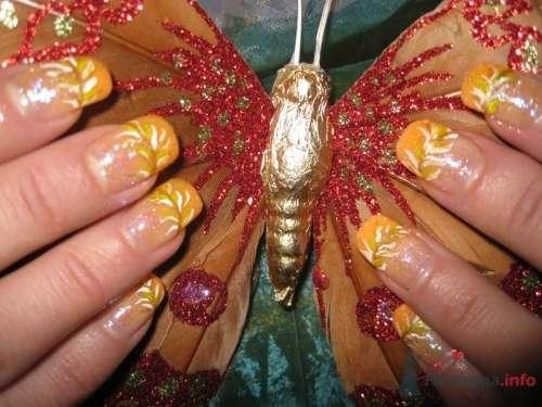 Желтый френч - фото 6231 PerfectioNails - наращивание ногтей гелем и акрилом