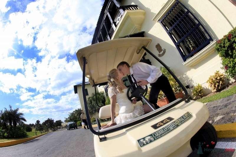 Гольф-кар для поцелуев - фото 66619 Фотограф Елена Зотова