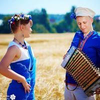 Love Story в пшеничных полях