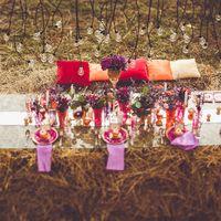 Осенняя свадьба в стиле Boho chik