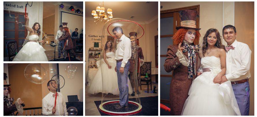 Волшебное шоу мыльных пузырей в исполнении Безумного Шляпника - фото 2343194 Свадебное агентство All Inclusive