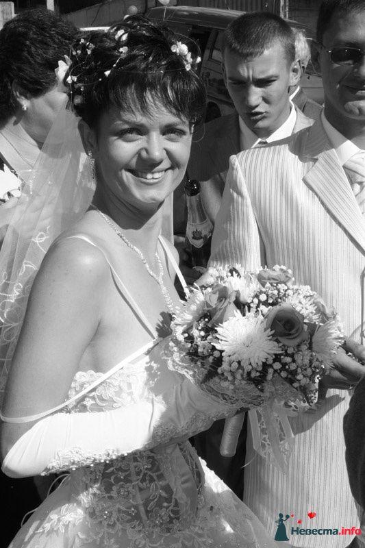 свадьба снятая в ч\б - это классика - фото 87807 Невеста01