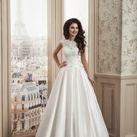 Кружевное cвадебное платье  А-силуэт(принцесса) Арт. VS050.