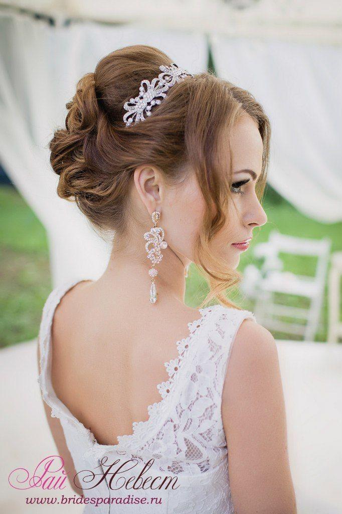 Причёски к свадьбе для гостей