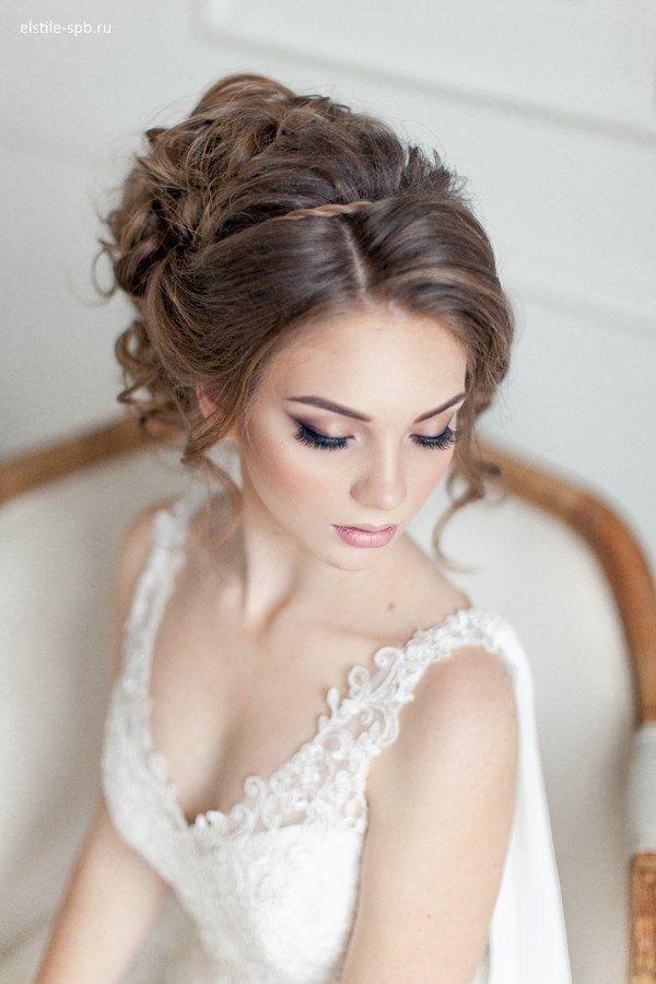 Прическа на свадьбу фото гостье фото