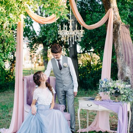Оформление свадьбы в резиденции Шенонсо