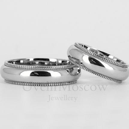 Обручальные кольца (арт.3491)