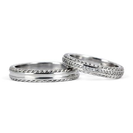 Обручальные кольца с бриллиантами (Арт 810)