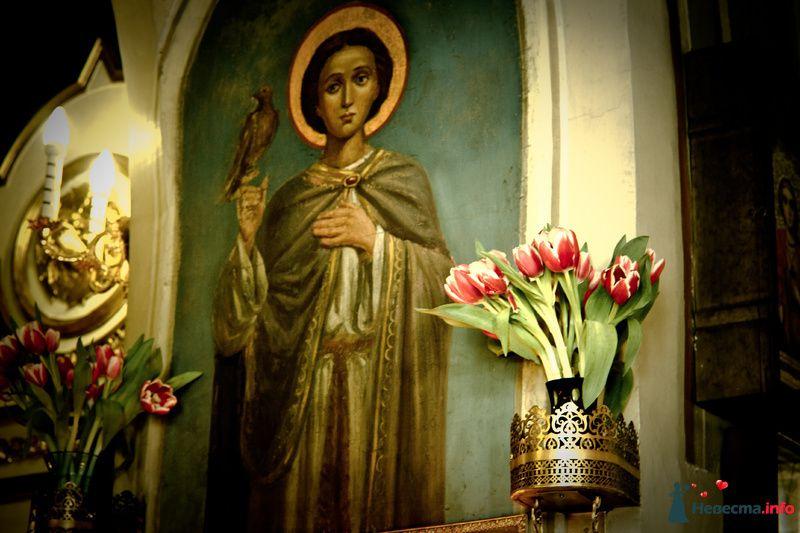 Фреска в церкви на Воробьёвых горах - фото 91853 Фотограф Иван Лесной