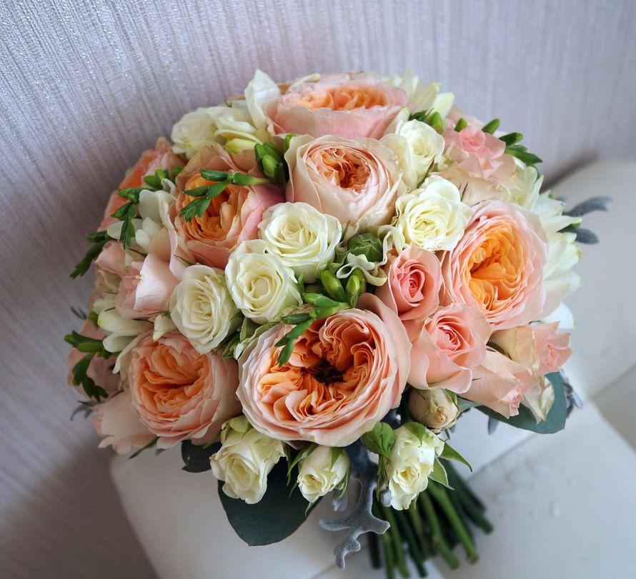 Бульвар цветы, какие цветы персикового букет