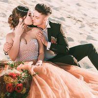 Свадебная фотосъемка в пустыне