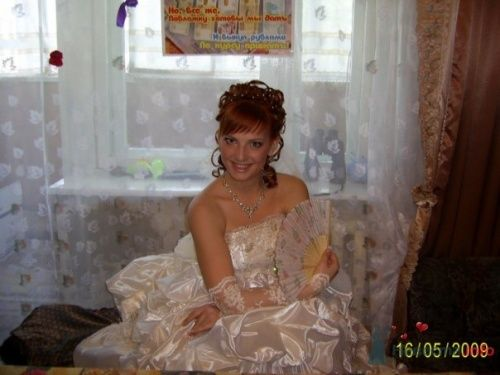 Вот невесту успокоили и усадили! - фото 22544 Виктория_Клубничка