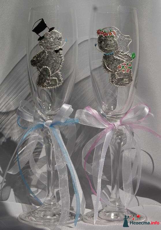 """Фото 122170 в коллекции Мои фотографии - """"Aнютa"""" - свадебные бокалы и аксессуары"""