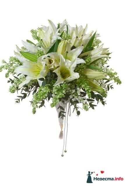 Фото 110680 в коллекции Любимые лилии - свадебные букетики