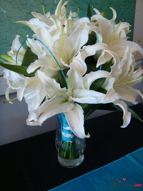 Фото 110682 в коллекции Любимые лилии - свадебные букетики