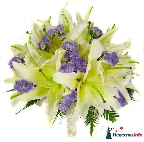 Фото 110690 в коллекции Любимые лилии - свадебные букетики - kosca