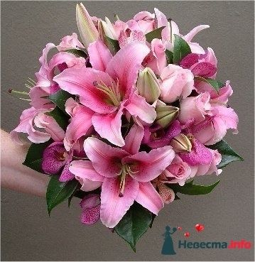 Фото 110691 в коллекции Любимые лилии - свадебные букетики - kosca