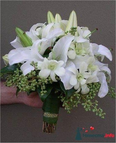 Фото 110698 в коллекции Любимые лилии - свадебные букетики - kosca