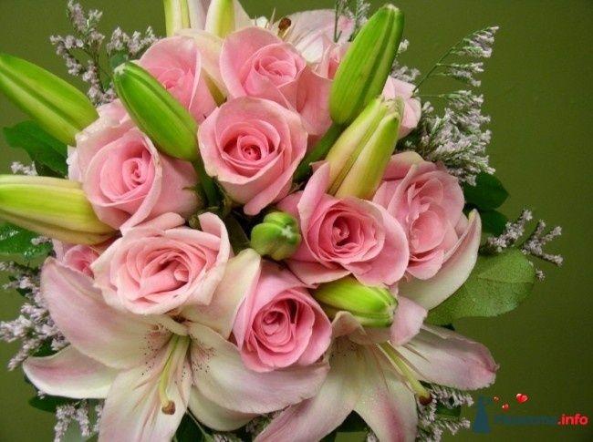 Фото 110705 в коллекции Любимые лилии - свадебные букетики