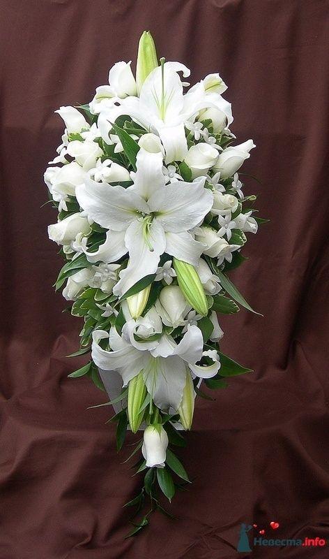 Фото 111486 в коллекции Любимые лилии - свадебные букетики
