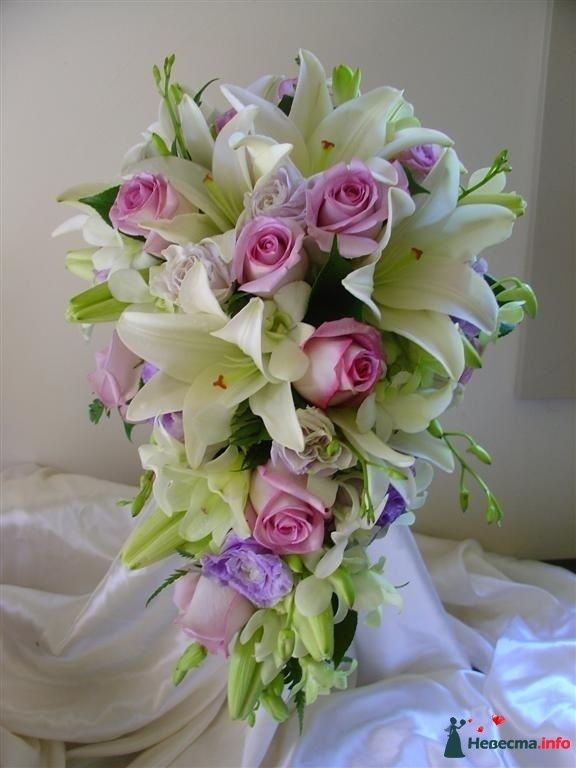 Фото 111491 в коллекции Любимые лилии - свадебные букетики