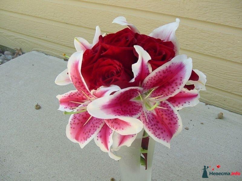 Фото 115318 в коллекции Любимые лилии - свадебные букетики - kosca