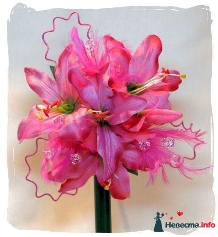Фото 115319 в коллекции Любимые лилии - свадебные букетики
